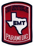 Paramedic Patch (Texas)