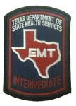 EMT Intermediate Patch (Texas)