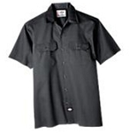 Dickies Long Sleeve Charcoal Shirt