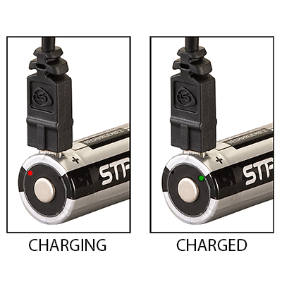Streamlight 18650 USB Battery with Integrated Port