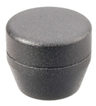 ASP Grip Cap Textured Black and Electroless