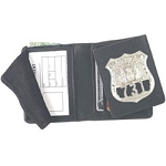 Flip-out Badge Dress Wallet