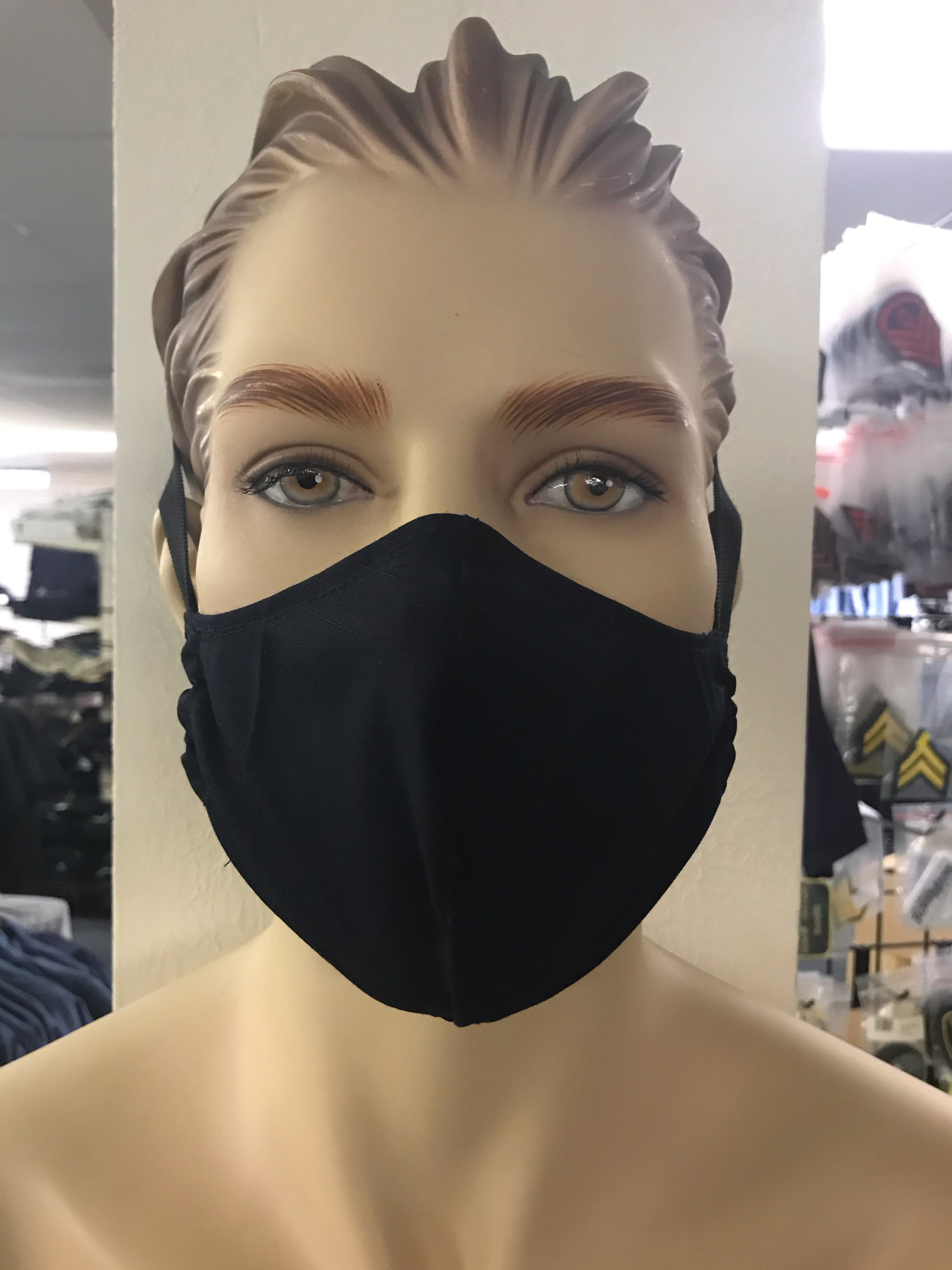 Cotton Face Mask with Pocket for filter