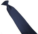 Neckwear-Clip On. 75/25% Wool Navy. Samuel Broome