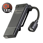 Streamlight Clipmate USB 120V AC. Black with white and red LEDs