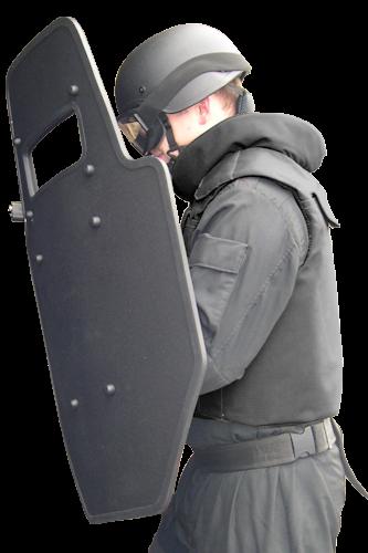 united shield e r t emergency response team ballistic shield