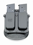 Fobus DOUBLE MAGAZINE PADDLE POUCH