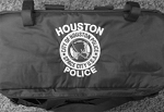 Embroidered Equipment Bags-Houston Police