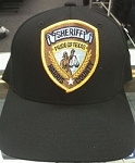 Black Ball Cap - Harris County Sheriff Patch