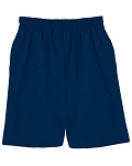 100% Extra Heavyweight Preshrunk Cotton Shorts - Navy