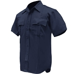 Tac Squad Mens Polyester S/S Shirts, Navy