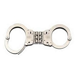 S&W Model 300 Hinged Handcuffs Nickel or Blue