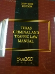 Texas Criminal and Traffic Law Manual 2019-2020
