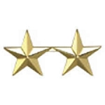 Star Collar Brass. Double touching 5/8
