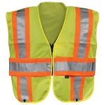 Gerber Outerwear VISION QUEST TRAFFIC VEST -- ANSI 107 CLASS II / ANSI 207