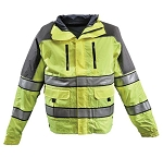 Gerber Outerwear ECLIPSE SX  with Soft Shell Liner JACKET - Lime Yellow