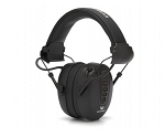 Clandestine Electronic  Earmuff - Black Ear Cup with Black Headband
