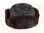 Midway Fur Trooper Cap - Black