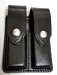 Gun Leather Double Magazine Holder for single stack