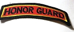 honor guard -red background