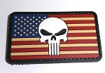 Morale Patch - Vintage Flag Punisher