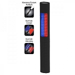 Safety Light / Flashlight--Red/Blue Safety LED Lights & Full Size White light