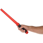 LED Traffic Wand - Red  (Batteries INCLUDED)