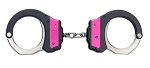 ASP Pink Identifier Ultra Cuffs, Chain (Steel Bow)