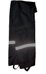 neese Rain Pants - black with reflective stripe