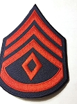 custom patch sgt major