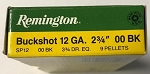 Remington 12 ga 00 Buckshot