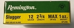 Remington Slug 12 ga Rifled Slug Shells