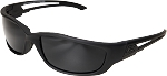 EDGE Eyewear Blade Runner XL - Matte Black / G-15 Vapor Shield© -SBR-XL61-G15