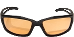 EDGE Eyewear Blade Runner - Matte Black / Tiger's Eye Vapor Shield© -SBR610
