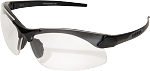 EDGE Eyewear Sharp Edge - Matte Black Thin Temple / Clear Vapor Shield© - SSE611-TT
