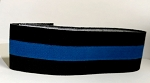 Thin Blue line - Arm Band (mourning band)