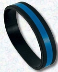 Thin Blue Line Wrist Band