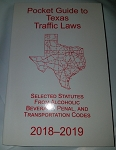 Pocket Press Texas Traffic Law 2018-2019