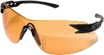 EDGE Eyewear Notch - Matte Black / Tiger's Eye Vapor Shield© - XN610
