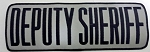 Deputy Sheriff Large Panel Patch, 4x11