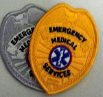Emergency Medical Service (EMS) Badge Patch