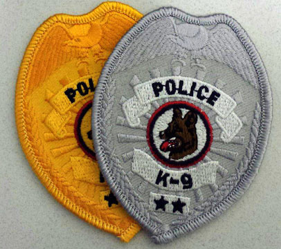 POLICE K9 Badge Patch