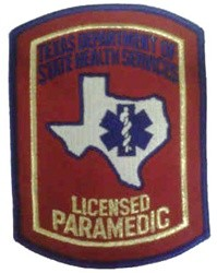 Licensed Paramedic Patch (Texas)