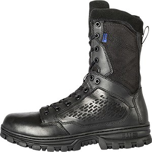"5.11 EVO 8"" WATERPROOF BOOT WITH SIDEZIP"