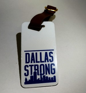 DALLAS STRONG Luggage Tag