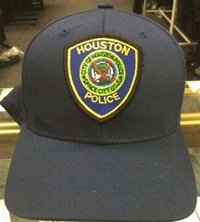Black Ball Cap Houston Police Dept Patch