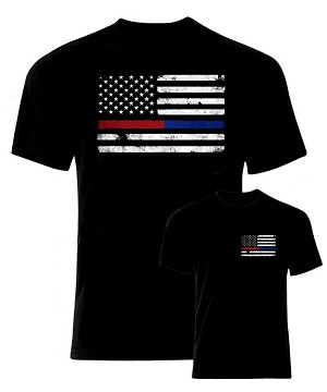 Thin Red/Blue Line T-Shirt