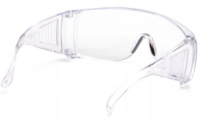 Clear Lens and Frame Safety Glasses
