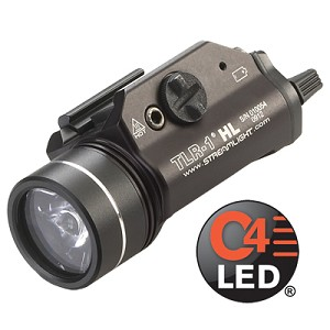 Streamlight TLR-1® HL  with lithium batteries - Black